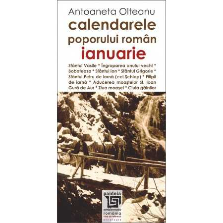Paideia Romanian calendars - January Cultural studies 26,97 lei