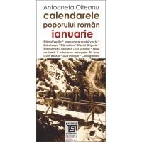 Calendarele poporului roman - ianuarie - Antoaneta Olteanu