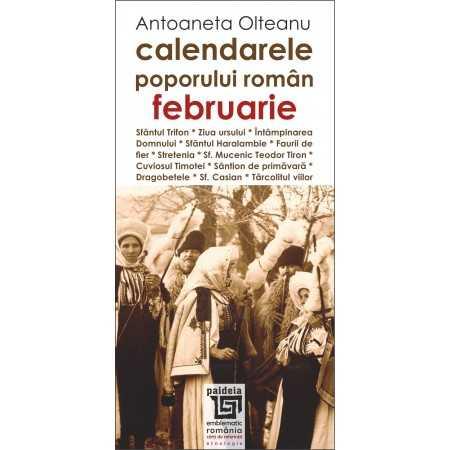 Paideia Romanian calendars - February Cultural studies 26,97 lei