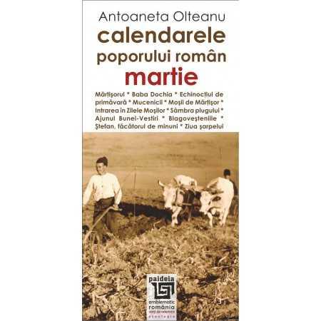 Paideia Romanian calendars - March Cultural studies 26,97 lei