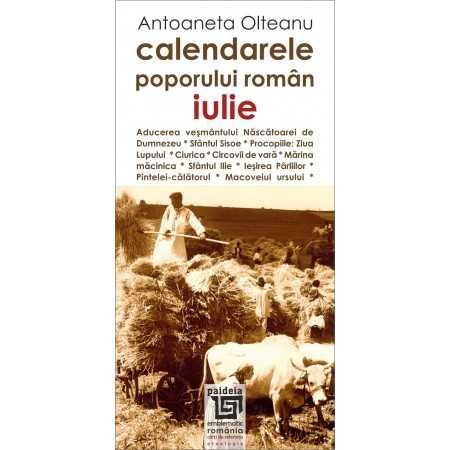 Paideia Romanian calendars - July Cultural studies 26,97 lei