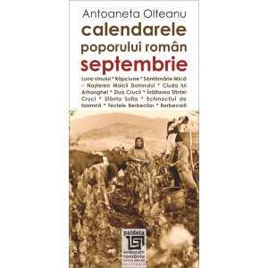 Calendarele poporului roman - septembrie - Antoaneta Olteanu