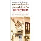 Paideia Calendarele poporului roman - octombrie - Antoaneta Olteanu Studii culturale 26,97 lei 1557P