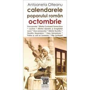 Calendarele poporului roman - octombrie - Antoaneta Olteanu