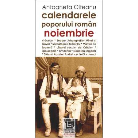 Paideia Romanian calendars - November Cultural studies 26,97 lei