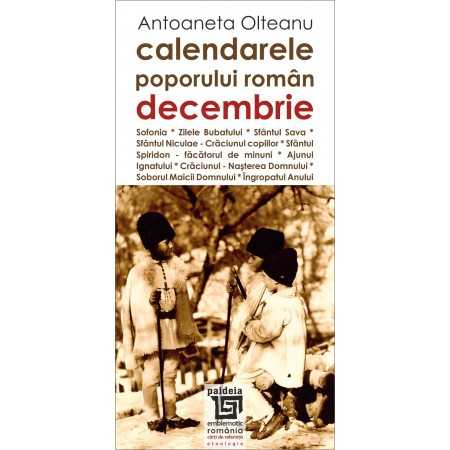 Paideia Romanian calendars - December Cultural studies 26,97 lei