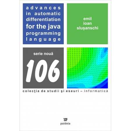 Advances in Automatic. Differentiation for the Java. Programming Language