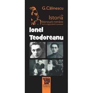 Ionel Teodoreanu - George Călinescu