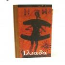 Iliad (handmade paper insertions, hand-bound)
