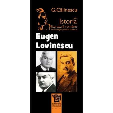 Eugen Lovinescu - George Călinescu Litere 21,19 lei 1664P