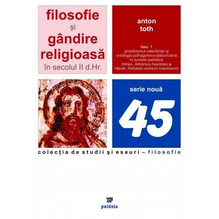 Filosofie şi gândire religioasă în sec. II D.HR.