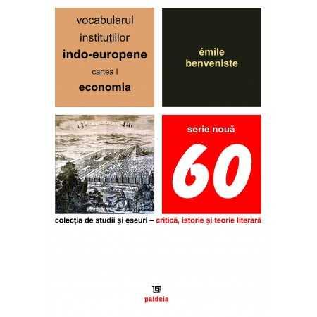 Paideia The vocabulary of the Indo-European institutions volume I E-book 15,00 lei