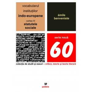 The vocabulary of the Indo-European institutions volume III