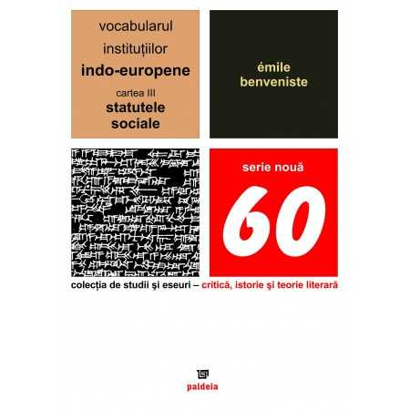 Paideia The vocabulary of the Indo-European institutions volume III E-book 10,00 lei