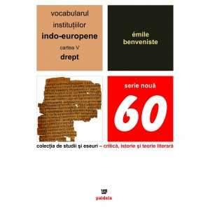 The vocabulary of the Indo-European institutions volume V