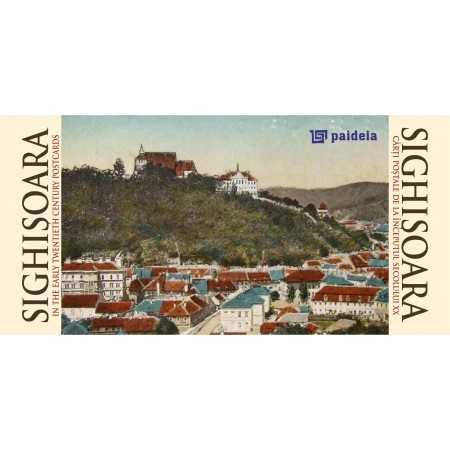 Paideia Sighişoara în cărţi postale de la începutul sec. XX, ro-engl landscape Emblematic Romania 19,50 lei 1374P