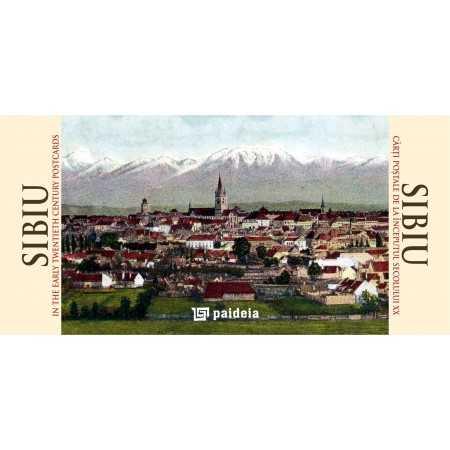 Paideia Sibiu în cărţi postale de la începutul sec. XX, ro-engl landscape Emblematic Romania 19,50 lei 1375P
