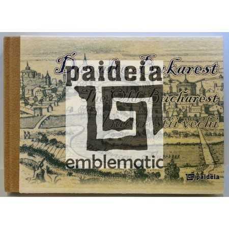 Paideia Album Bucureştii vechi, în română, engleză, germană - Mihai Oroveanu Emblematic Romania 350,00 lei 1977P