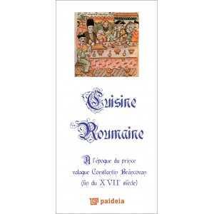 Cuisine Roumaine, L3 - Constantin Brâncovan