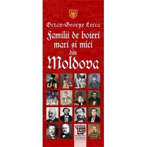 Familii de boieri mari şi mici din Moldova