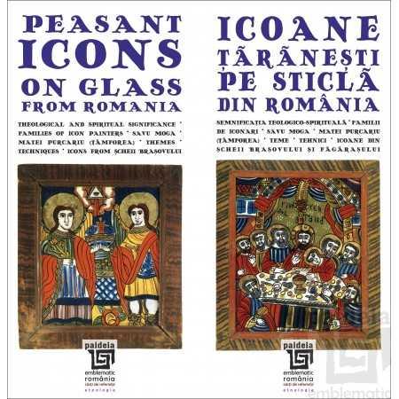 Paideia Icoane taranesti pe sticla din Romania, ed. bilingva (ro-engl), L1 - Ana Cartianu Emblematic Romania 57,80 lei 1562P