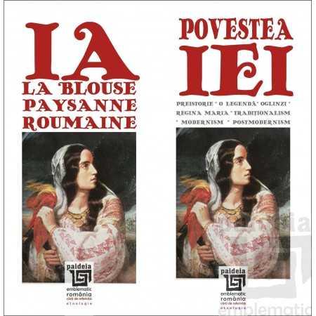 Paideia Povestea iei ed. bilingva ro-fr, L3 - povestita de Doina Berchina Emblematic Romania 28,90 lei 1340P