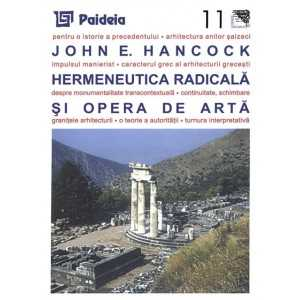 Hermeneutica radicală şi opera de artă - John E. Hancock