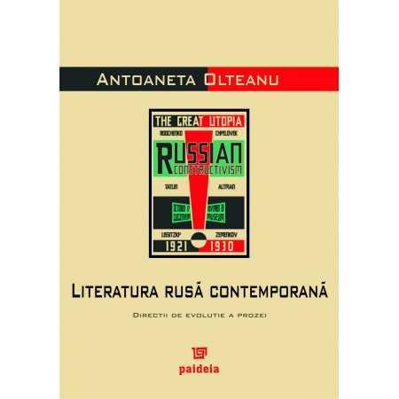 Literatura rusă contemporană - Antoaneta Olteanu E-book 15,00 lei E00000989