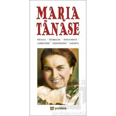 Paideia Maria Tănase - ediție româno-franceză Emblematic Romania 16,80 lei