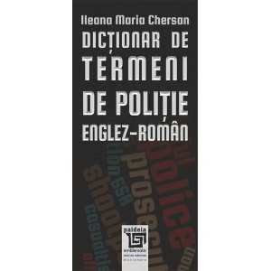 Dicționar de termeni de poliție – Englez-Român