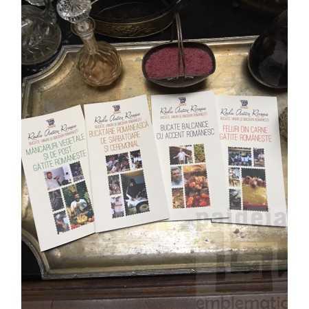Pachet 4 carti -  Bucate, vinuri si obiceiuri romanesti
