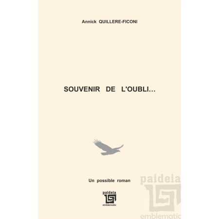 Souvenir de l'oubli...Un possible roman