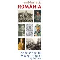 Catalog Centenarul MARII UNIRI 1918-2018 cu CD Nicolae Voiculet