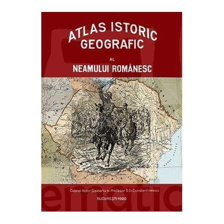 Paideia Atlas istoric geografic al neamului romanesc Emblematic Romania 1 000,00 lei 2229P