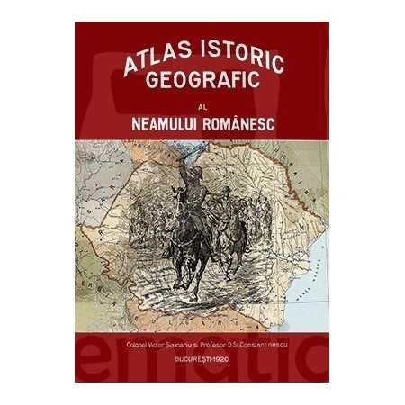Paideia Atlasul istoric geografic al neamului românesc Emblematic Romania 1 000,00 lei