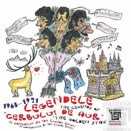 """Paideia Legendele """"Cerbului de Aur"""" - The Legends of """"The Golden Stag"""" - Ioan Lucian Ciucu Arte & arhitecturi 50,00 lei 2249P"""