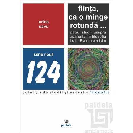 Paideia Fiinta, ca o minge rotunda - Savu Crina E-book 15,00 lei E00001854