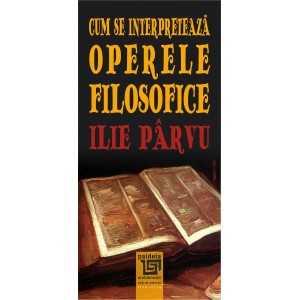 Paideia Cum se interpretează operele filosofice E-book 10,00 lei