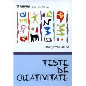 Paideia Teste de creativitate - Margareta Dinca E-book 10,00 lei E00001139