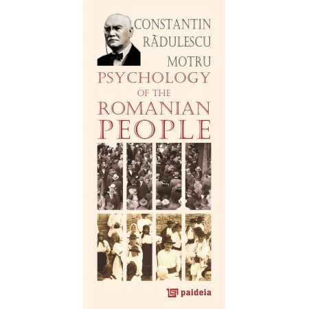Paideia Psychology of the Romanian People - Constantin Radulescu-Motru, Radu Iancu E-book 10,00 lei E00000288