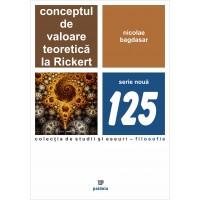 Conceptul de valoare teoretică la Rickert - Nicolae Bagdasar
