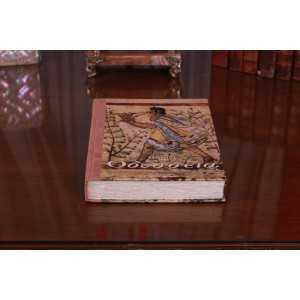 Odysseia (copertă hârtie manuală + piele – cartonată, interior hârtie ivory, legată manual)