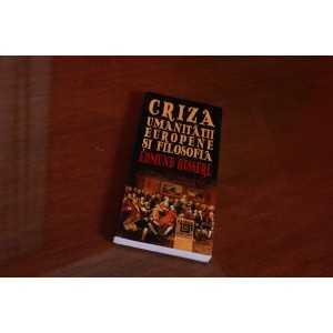 Paideia Criza umanitatii europene si filosofia - Edmund Husserl Filosofie 24,00 lei 1987P