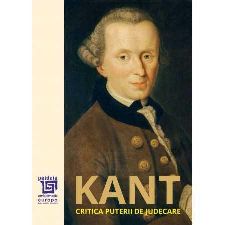Paideia Critica puterii de judecare - Immanuel Kant Libra Magna 81,00 lei