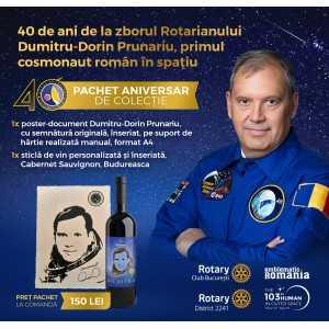 Paideia Pachet aniversar de colecție - 40 de ani de la zborul primului cosmonaut român în spațiu Editii speciale 150,00 lei