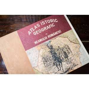 Paideia Atlas istoric geografic al neamului romanesc Imprimate pe hartie manuala 1 000,00 lei
