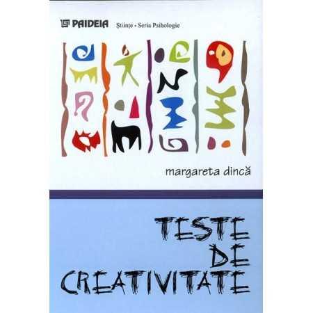 Paideia Teste de creativitate - Margareta Dinca Studii sociale 15,03 lei 1139P
